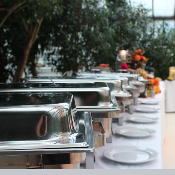 Buffet lang Chafing Dishes