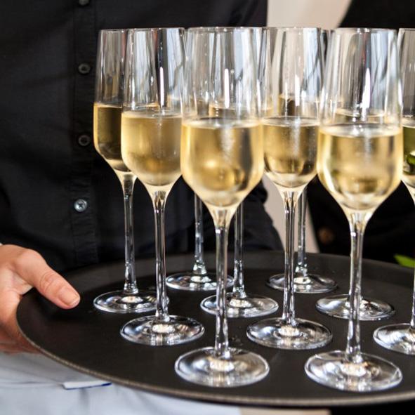 Champagnerempfang