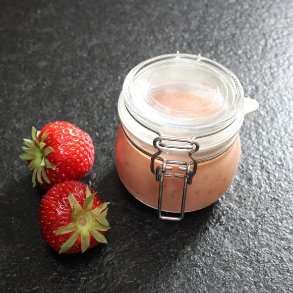 Erdbeer-Curd