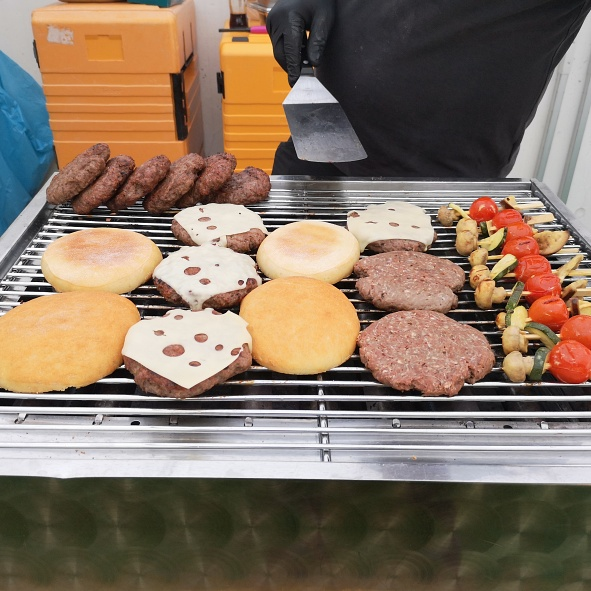 Grillbuffet Hawaii
