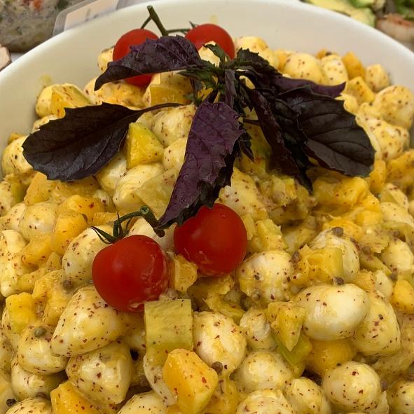 Mango-Mozzarella-Salat