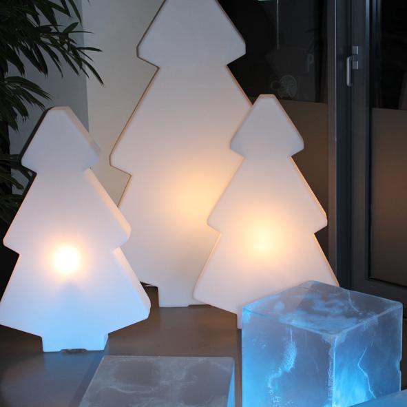 Weihnachten Leuchttanne