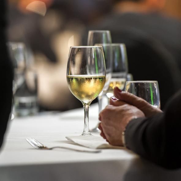 Weinglas Menue