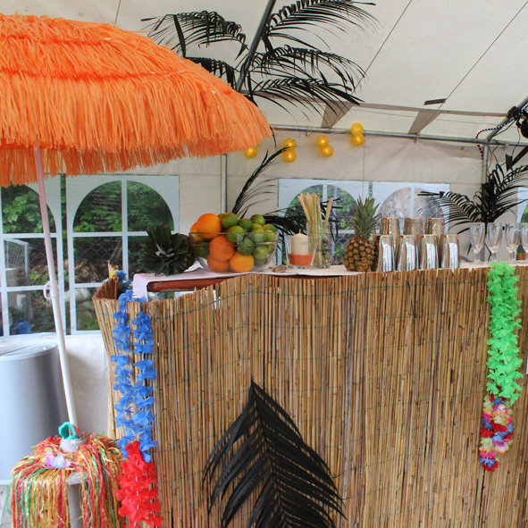 karibische Bardekoration