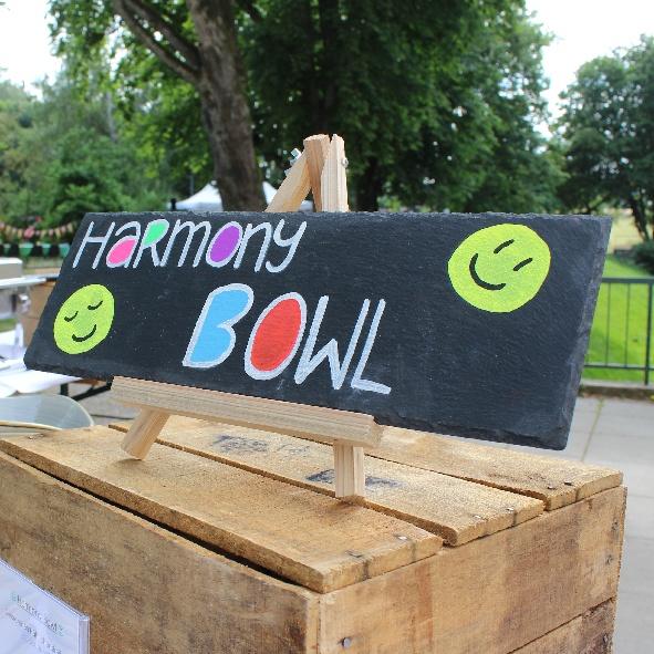 kl. Bowl Schild Harmony