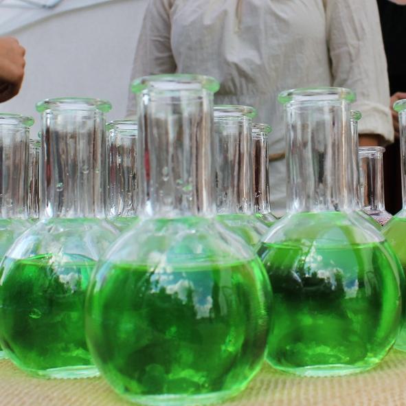 Sparklingcocktails im Reagenzglas