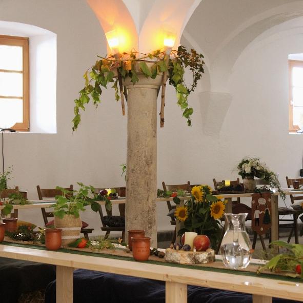 Eventdesign - Mittelalter-Hochzeit